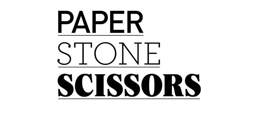 PAPER STONE SCISSORS IN SHANGHAI